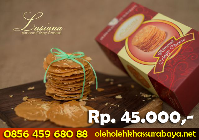 almond crispy cheese lusiana
